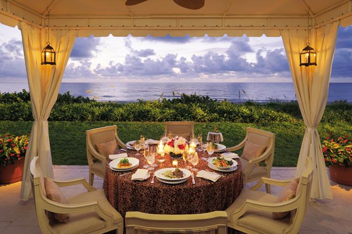 Four Seasons Resort Palm Beach Outdoor Dining