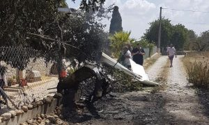 Helicopter, Small Plane Crash in Spain's Mallorca; 7 Dead