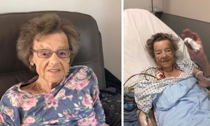 Betty Munroe, 93, died of broken heart syndrome following a terrifying home invasion in Northampton, United Kingdom, on June 11, 2019. (Northamptonshire Police)
