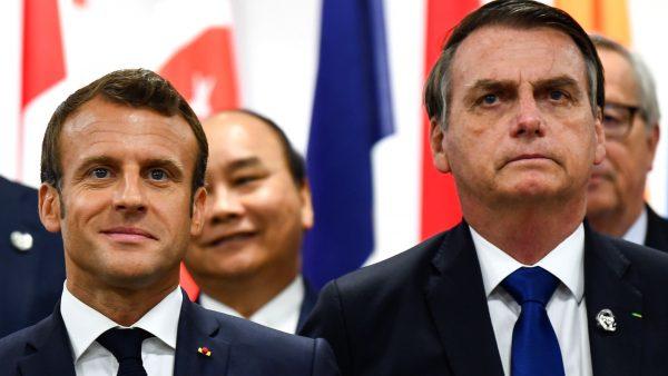 Bolsonaro and Macron
