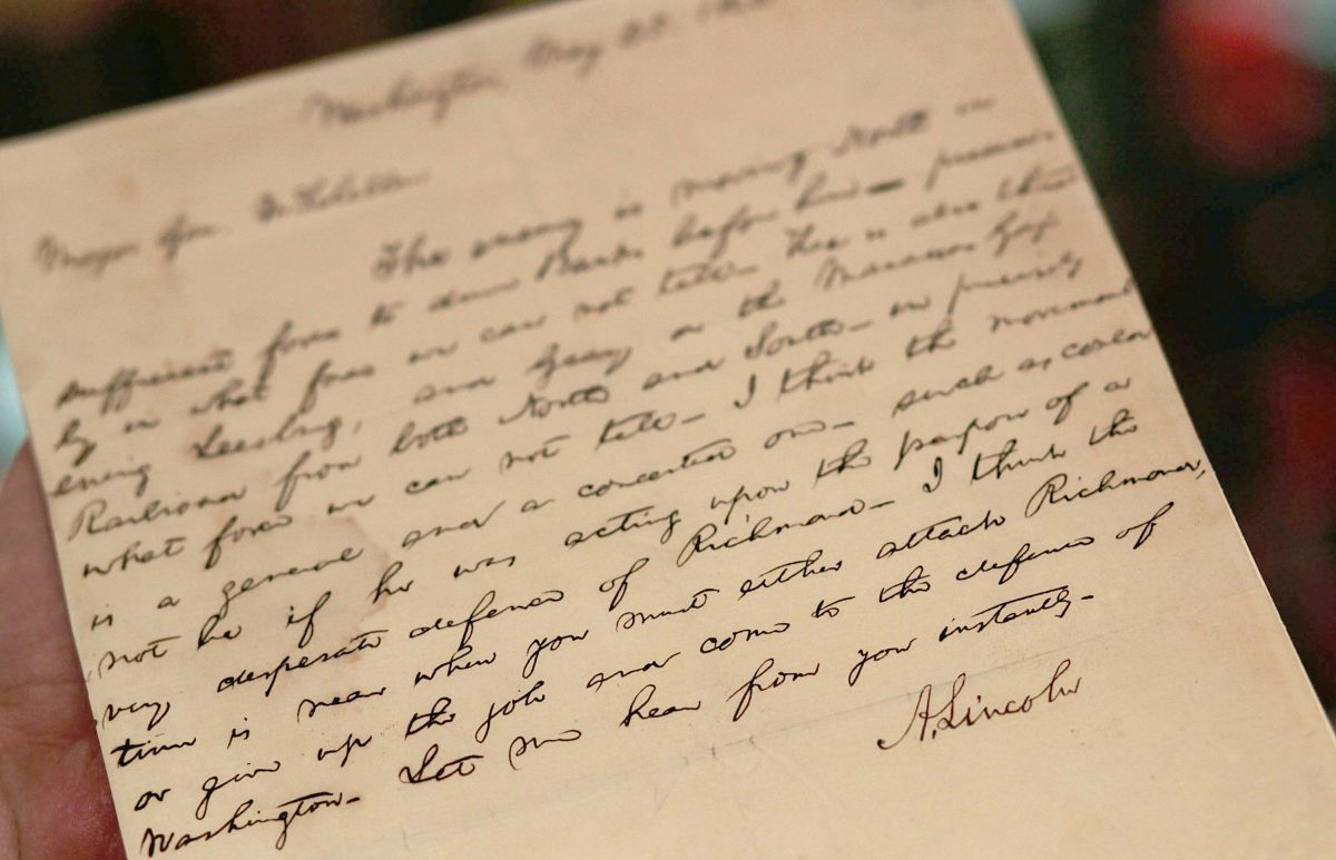 Sotheby's To Auction Rare Historical U.S. Documents