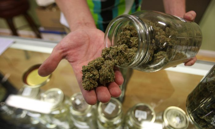 Joints in the 1970s had 1–3 mg of THC—the psychoactive component in marijuana—and a near equal amount of CBD—which is touted touted for its potential in treating seizures. Most joints in Colorado today contain 18–25 mg THC, with much less CBD. (David McNew/Getty Images)