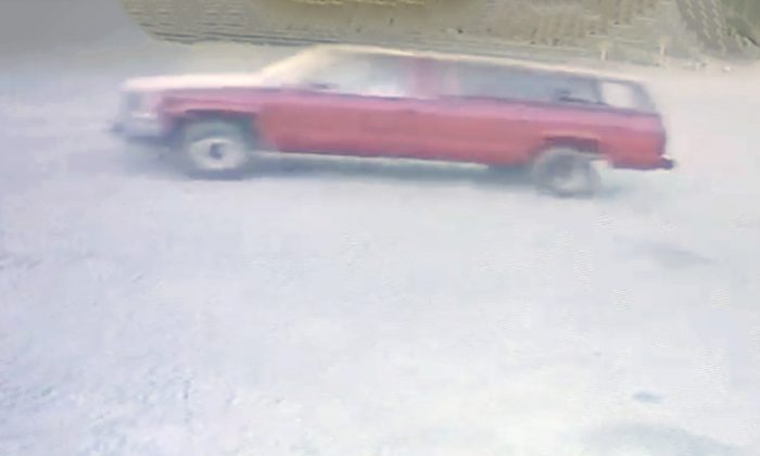 This red 1992 Chevy pickup truck was stolen in Kennewick, Wash., on Aug. 25, 2019. (Courtesy of Kennewick Police Department)
