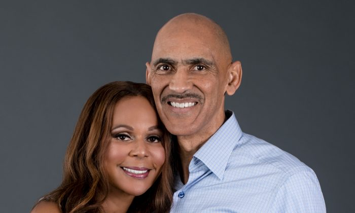 Tony and Lauren Dungy are writing a series of children's books with good messages. (Team Dngy)