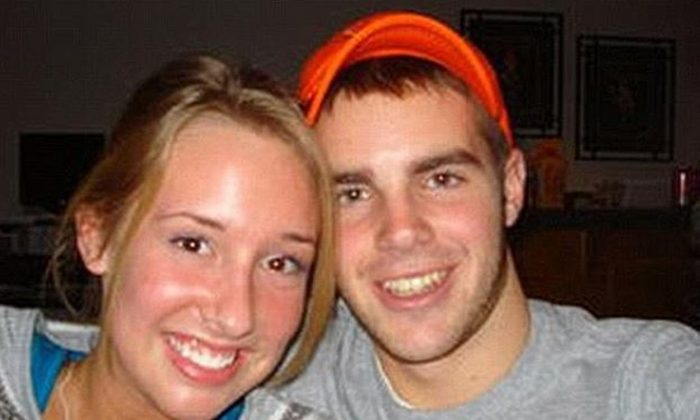 Heidi Childs, left, and David Metzler in a file photograph. (Facebook)