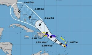 Florida Still in Direct Path of Tropical Storm Dorian