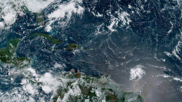 Tropical Storm Dorian satellite