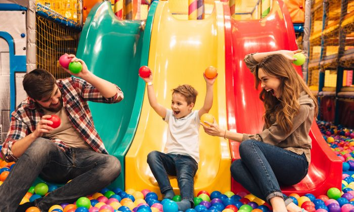 After growing up, we don't get to play as much as we did when we were kids, but having kids ourselves means playtime is inevitable. (Shift Drive/Shutterstock)