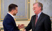 Trump Adviser Bolton Tells Ukraine: Beware of Chinese Influence