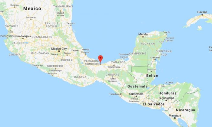 At least 23 people were killed and another 13 people were injured during an attack on a bar near Coatzacoalcos along the Gulf coast on Aug. 28. (Google Maps)