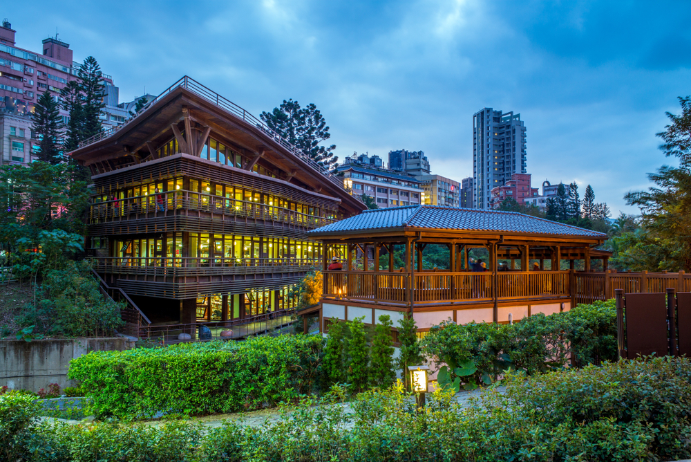 beitou public library in taiwan