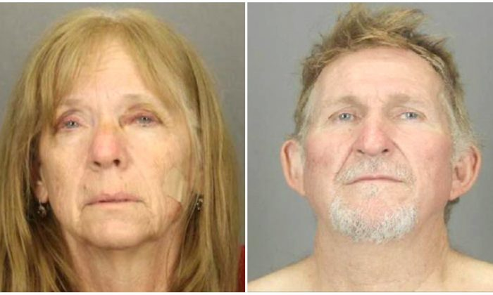 Susan Barksdale (L), 59, and Blane Barksdale (R), 56, in Tucson, Arizona, in undated file photos. (Tucson Police Department/Handout via Reuters)
