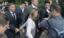 Lori Loughlin, Husband Put up 'United Front' During Court Appearance for College Bribery Charges