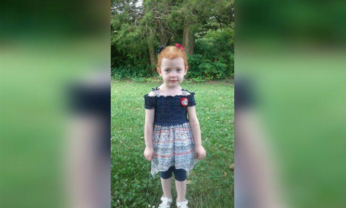 Vivian Fitzenrider, 3, was found dead in Mountain Grove, Missouri, on Aug. 28, 2019. (Mountain Grove Fire Department)