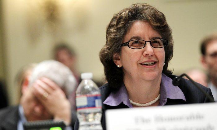 Federal Election Commission (FEC) Commissioner Ellen Weintraub on Capitol Hill on Nov. 3, 2011. (Alex Wong/Getty Images)