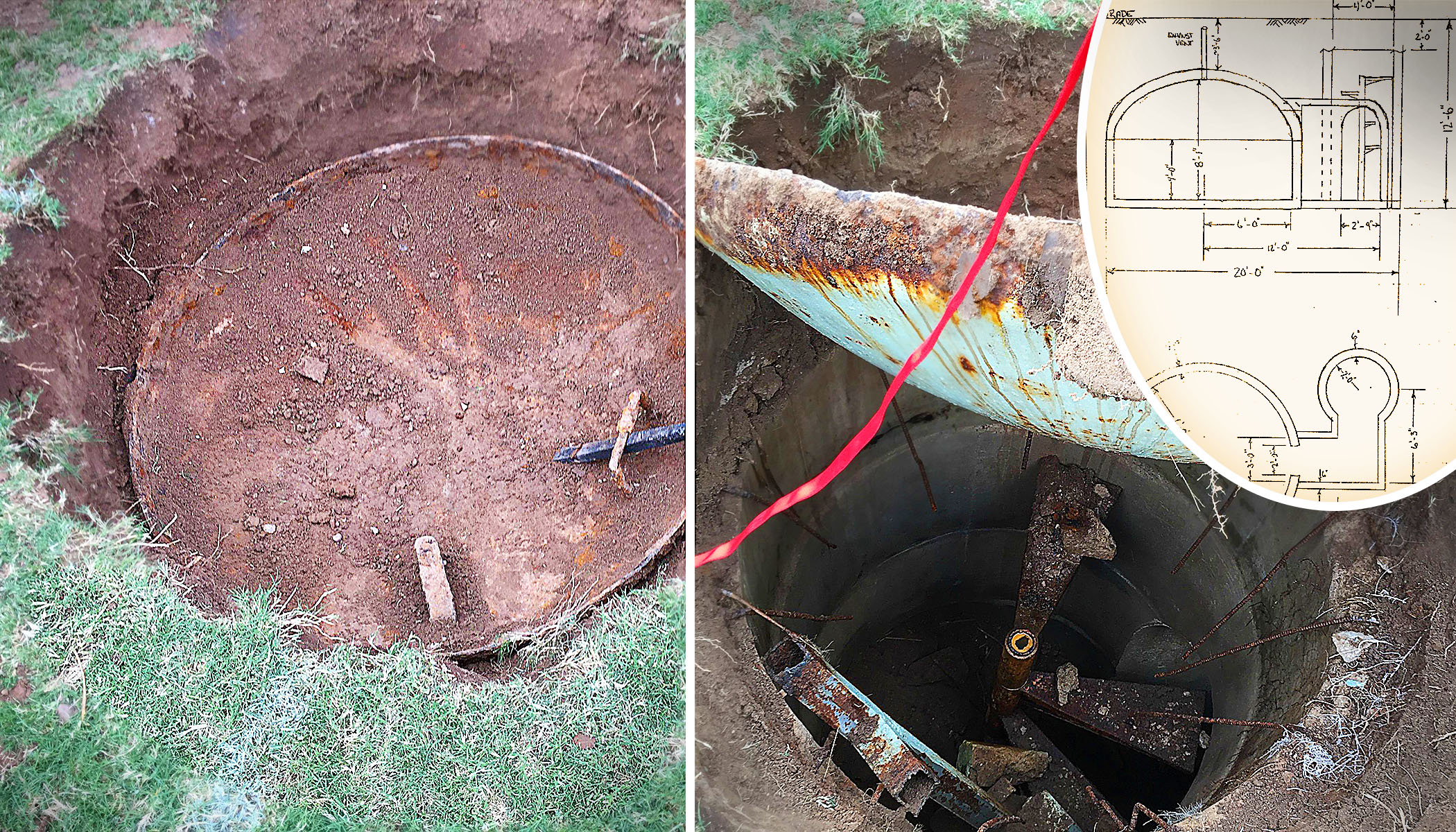 New Home Owner Is Told There May Be a Cold War-era Bunker in His Backyard, So He Starts Digging