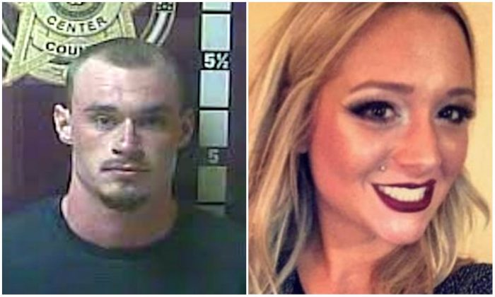L: David Sparks. (Madison County Jail) R: Savannah Spurlock in an undated image (Richmond Police)