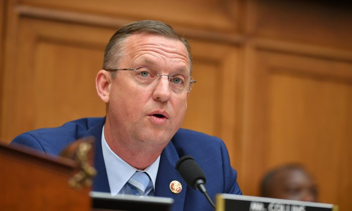 Rep. Doug Collins (R-Ga.), ranking member of the House Judiciary Committee, speaks during a hearing in Washington on May 21, 2019. (Mandel Ngan/AFP/Getty Images)