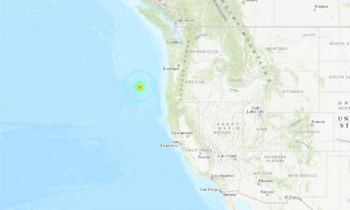 A 6.3 magnitude earthquake struck off the coast of Oregon on the morning of Aug. 29, according to the U.S. Geological Survey (USGS)