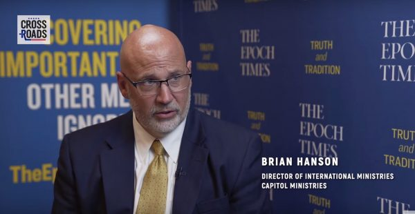 A Spiritual Awakening Is Taking Place In the US Government — Brian Hanson, Capitol Ministries