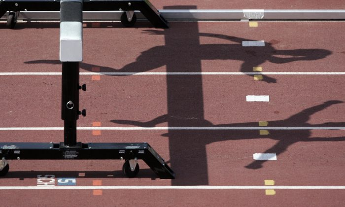 Athletes race in a file photograph. (Jeff Haynes/AFP/Getty Images)