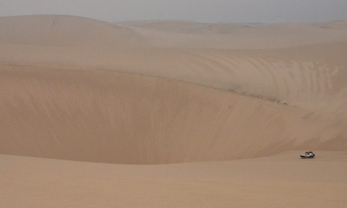Dune driving. (Kevin Revolinski)