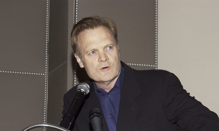 Lawrence O'Donnell gives a speech in a file photograph. (Amanda Edwards/Getty Images)