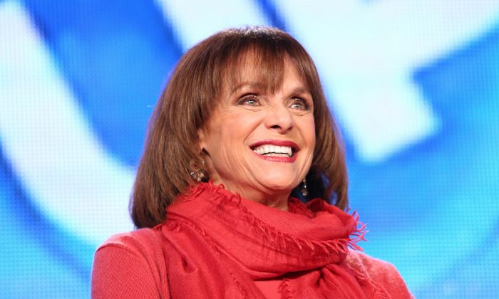 Actress Valerie Harper at the Langham Hotel in Pasadena, California, on Jan. 11, 2014. (Frederick M. Brown/Getty Images)