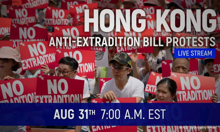 A planned mass rally on Aug. 31 was canceled due to police objection, but protesters are calling for people to attend through other creative forms. (NTD)