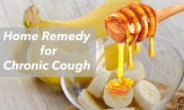 Say Bye-Bye to Bronchitis: Try This Bananas, Water, and Honey Home Remedy