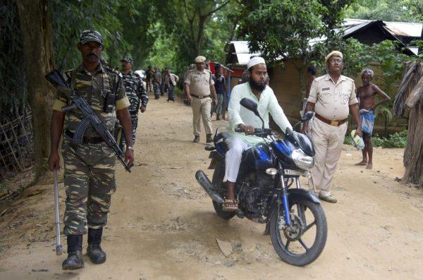 India citizens check NRC list