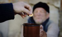 Poor Man Gives Last Penny to an Old Raggedy Beggar and Receives Fortune Manyfold in Return