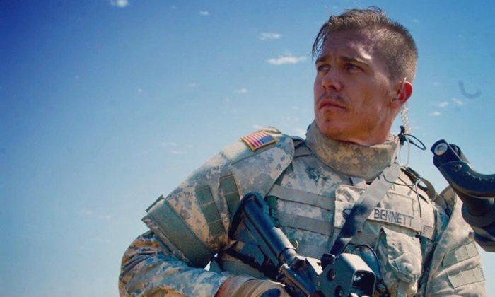 """Michael Roark as a soldier in the Iraq War in """"Bennett's War."""" (Forrest Films)"""