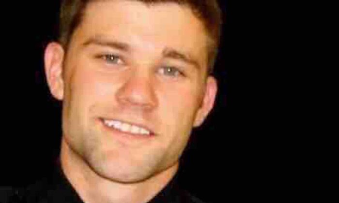 Police officer Zack Owens, who was shot by a gunman in Odessa, Texas, on Aug. 31, 2019. (Medical Fund for Officer Zack Owens/GoFundMe)