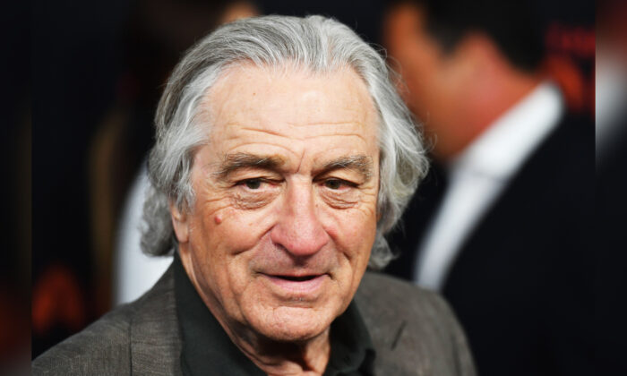 "Actor Robert De Niro attends the 2019 Tribeca Film Festival opening night World premiere of the HBO documentary film ""The Apollo"" in New York on April 24, 2019. (Angela Weiss/AFP/Getty Images)"