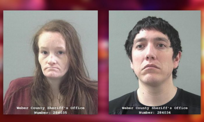 A Utah couple has been arrested after police said they starved and tortured their 15-year-old daughter for years. (Weber County Sheriff's Office)