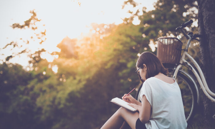 Look within yourself and begin to notice the thoughts that keep you from feeling calm. It may be helpful to keep a journal and write them down. (Shutterstock)
