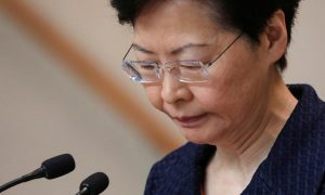 Hong Kong Leader Says She Would 'Quit' If She Could, Fears Her Ability to Resolve Crisis Now 'Very Limited'