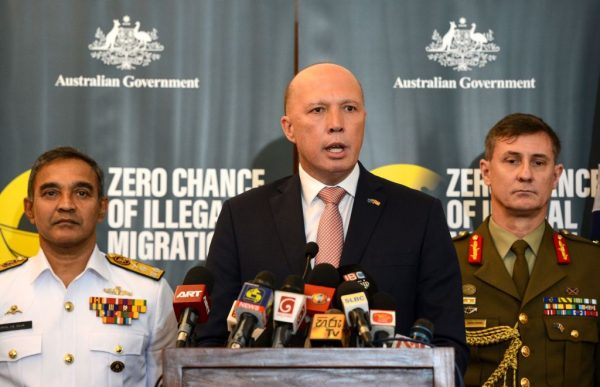 Australia's Home Minister Peter Dutton