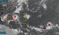 Forecasters Monitoring Four Tropical Disturbances in Gulf of Mexico and Atlantic
