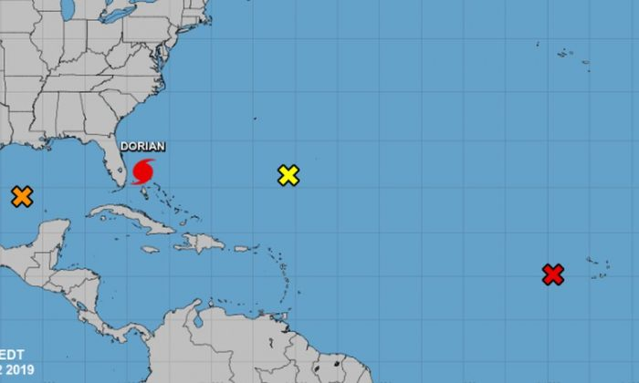 Hurricane Dorian has esentially stalled over the northwestern Bahamas, said the National Hurricane Center on Monday (NHC)