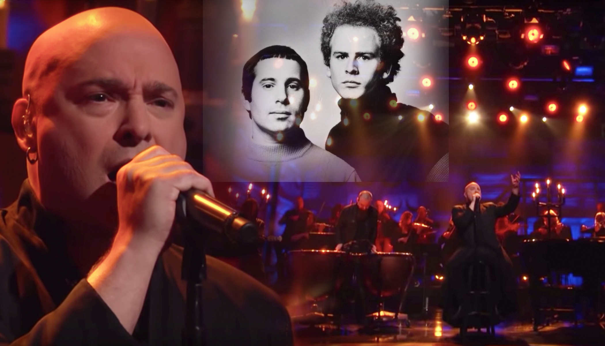 A Look Back: Heavy Metal Singer's Chilling Cover of 'Sound of Silence' Stuns Audience
