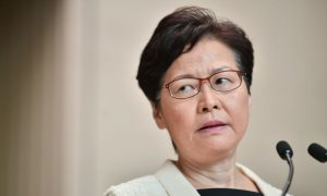 Hong Kong Lawmakers Question Lam's Comments on Whether She Wishes to Resign