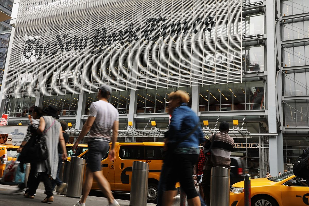 Former New York Times Employee Speaks out After Sudden Firing