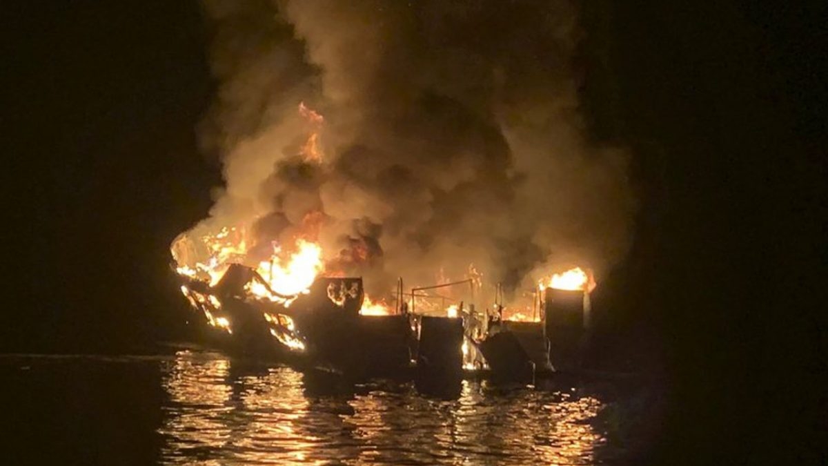 Owners of Boat That Caught on Fire in California File Papers