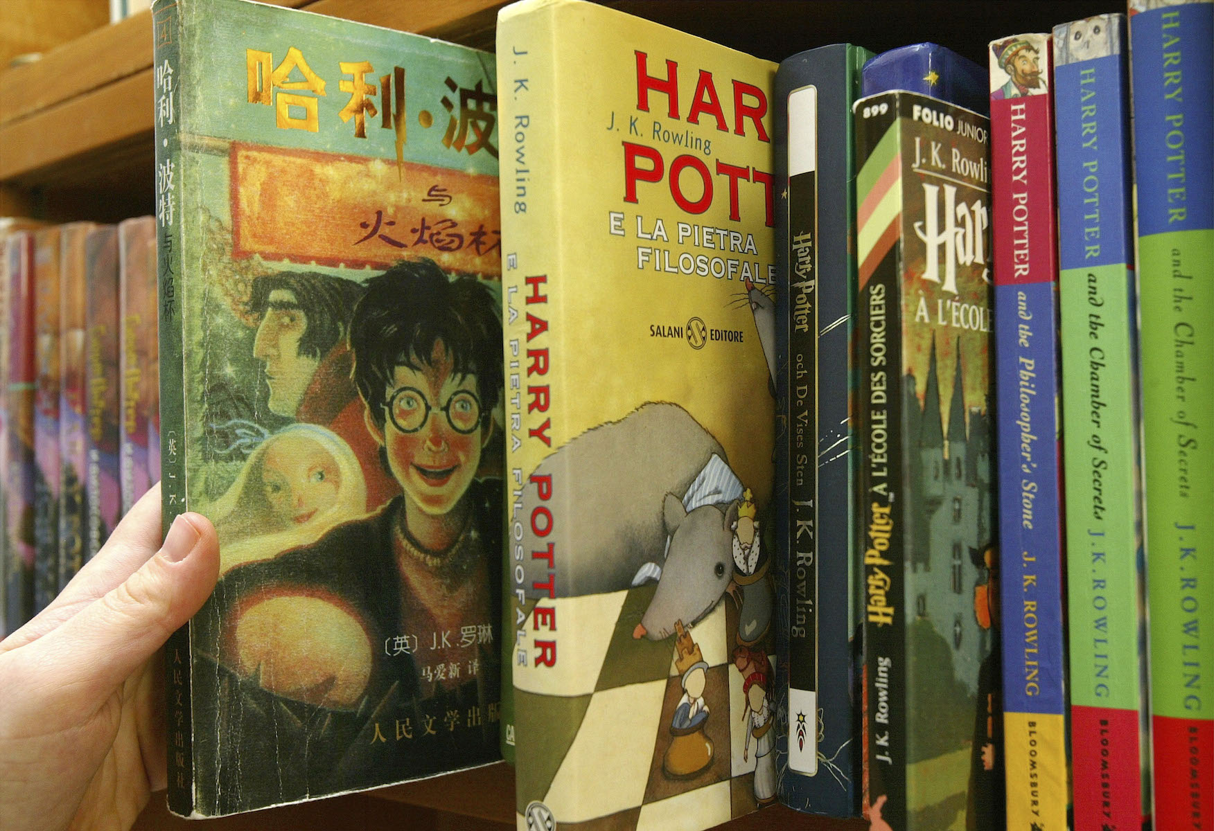 Harry Potter Books Translated Worldwide