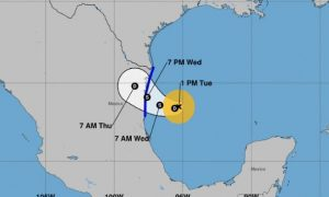 Tropical Storm Fernand Forms in Gulf of Mexico, Other Disturbances Being Monitored