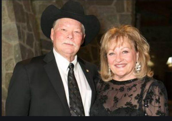 Shankwitz with his wife