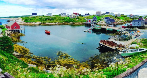 Peggy's Cove pano