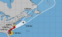 Hurricane Dorian Moving Parallel to Florida Coast, Heading North to Carolinas